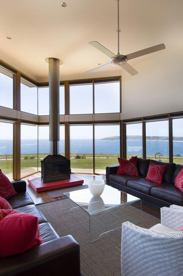 panoramic house plan australia coastline 4 Panoramic House Plan on Australian Coast