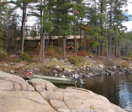 French river cottage with passive solar for Passive solar house plans canada