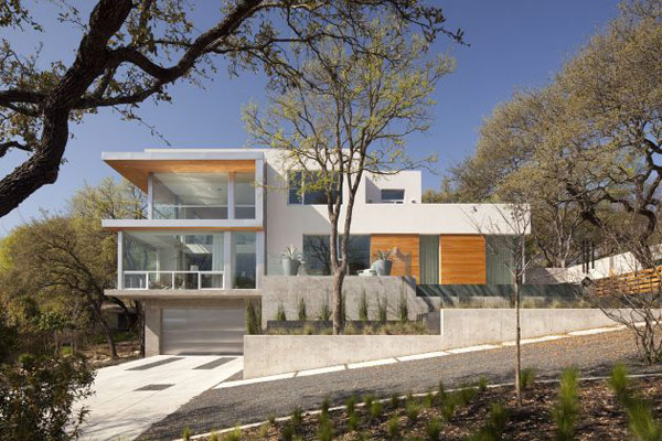 passive solar home design texas 1 Beautiful Contemporary Homes   Passive Solar House in Texas
