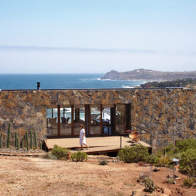 Passive Solar Stone House, A Beachfront Dream!