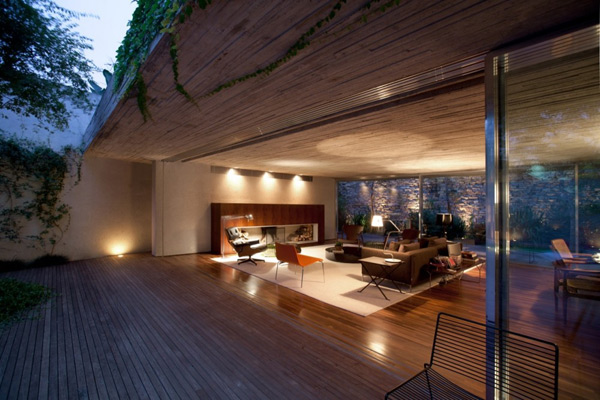 patio home architecture brazil 4