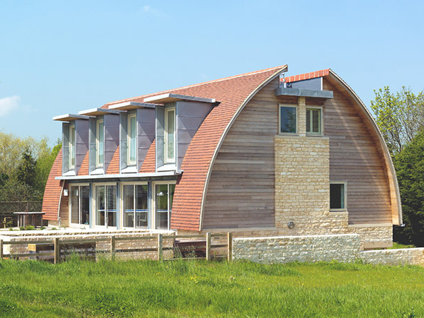 piddington house 3 Curved Roof House Plan makes a Stylish Eco Statement