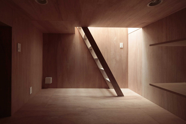 Japanese House with a Steep Pitched Roof