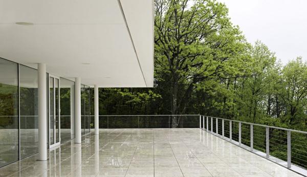 platform house design on hudson river 2 Platform House Design Overlooking Hudson River