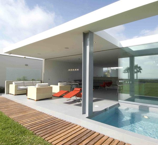 Playa La Isla House 3 Island House Design In Peru Gorgeous Seafront Home Part 47