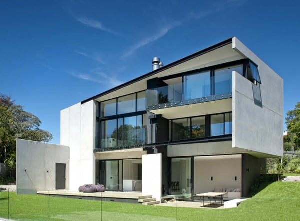 precast concrete home designs.  Precast Concrete Walls House in New Zealand