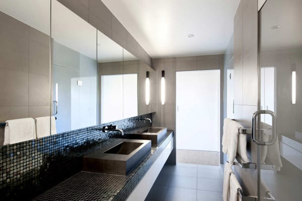 Precast concrete walls house in new zealand for Bathroom ideas new zealand