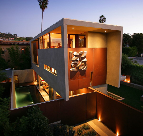 prospect residence 1 Sustainable Home by Architect Jonathan Segal   Smart, Contemporary, Off the Power Grid