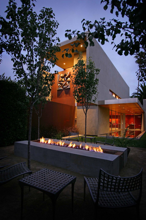 prospect residence 3 Sustainable Home by Architect Jonathan Segal   Smart, Contemporary, Off the Power Grid
