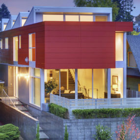 Queen Anne Modern offers luxurious living, contemporary style