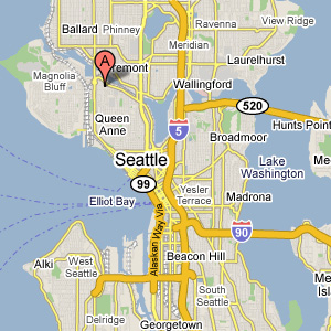 queen anne residence map Contemporary House in Seattle Merges Chic Style with Cool Quirks