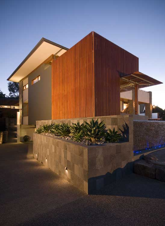 radial timber mt martha house 3 Modern House Design Built of Eco Friendly Radial Timber