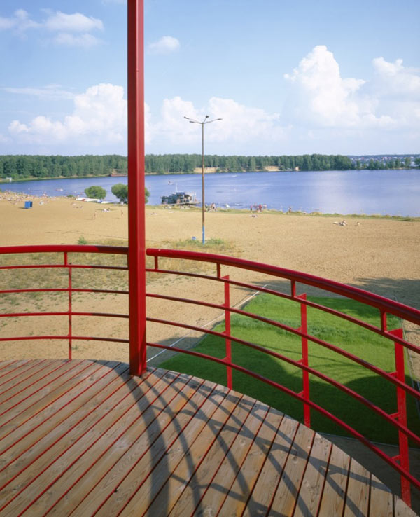 raised house plan russian resort 7