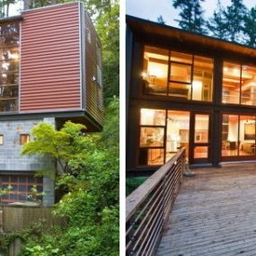 Modern Contemporary House for Sale in Mercer Island – Spectacular Natural Escape in Seattle!
