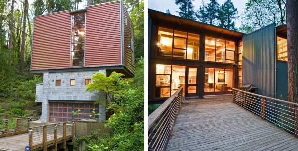 ravine house miller hull 1 Modern Contemporary House for Sale in Mercer Island   Spectacular Natural Escape in Seattle!