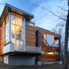 Recycled Houses – Repurposed Steel and Concrete from the I-93