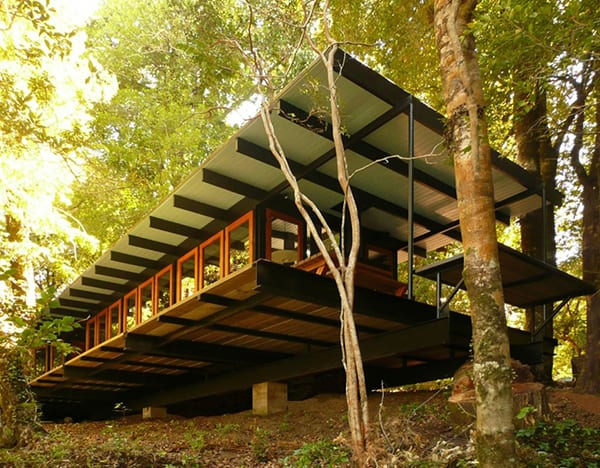 Recycled Wood Cottage In Chile