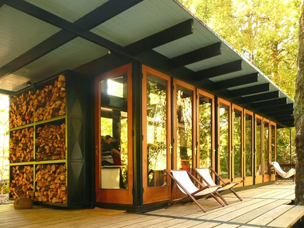 recycled wood cottage chile 18 Recycled Wood Cottage in Chile