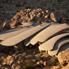 Ribcage Skeleton House Unearthed in the Desert, for Sale