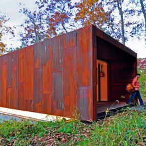 Rusted Steel Studio Design