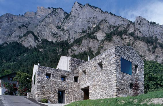 rustic mountain architecture swiss alps 2