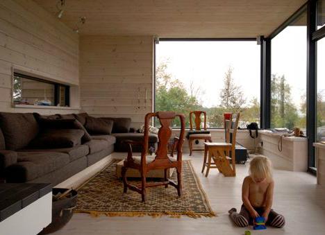 rustic pine house 8