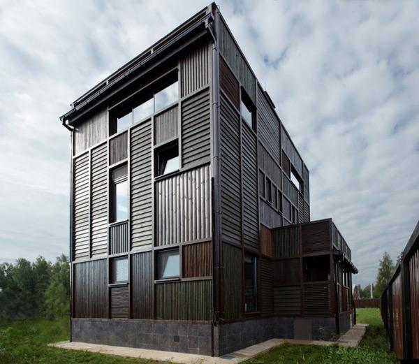 rustic style house plan volga river russia 2