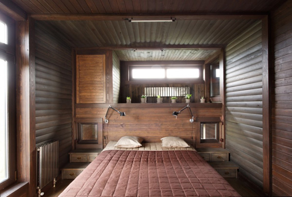 rustic style house plan volga river russia 6