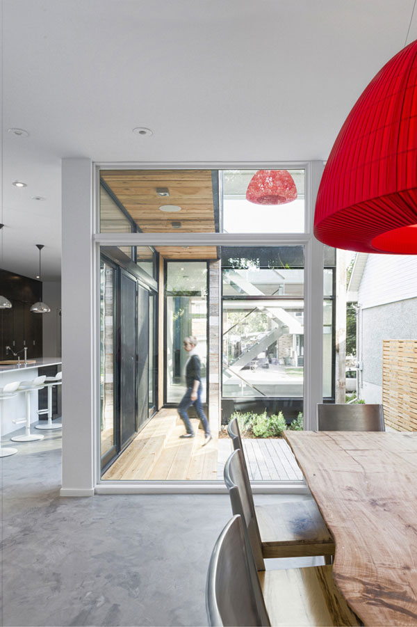 rustic wood clad house with minimalist interiors 3