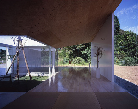 Japanese Minimalist Architecture Meets Nature In The