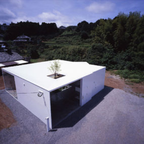 Japanese Minimalist Architecture meets Nature in … the interior courtyard!