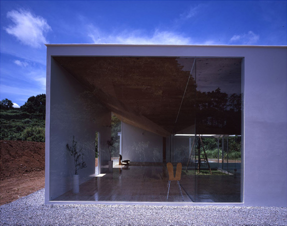 japanese minimalist architecture meets nature in the interior rh trendir com japanese modern minimalist architecture japanese modern minimalist architecture