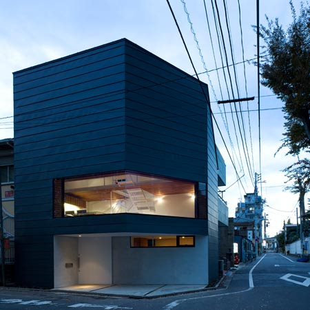 Urban home by modern japanese architects
