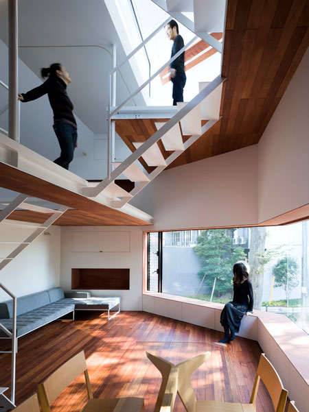 sakuragawa house 5 Urban Home by Modern Japanese Architects