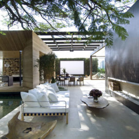 Sao Paulo Contemporary Architecture – Modern Indoor-Outdoor Living Loft