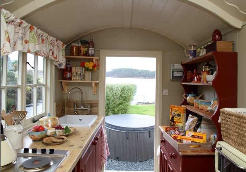 View In Gallery Scotland  Riverfront Resort Transforms Boat House And Shepherd