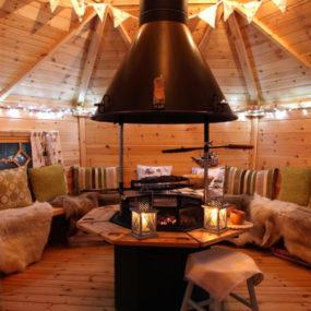 Scotland Riverfront Resort Transforms Boat House and Shepherd Hut