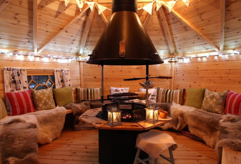 Scotland riverfront resort transforms boat house and