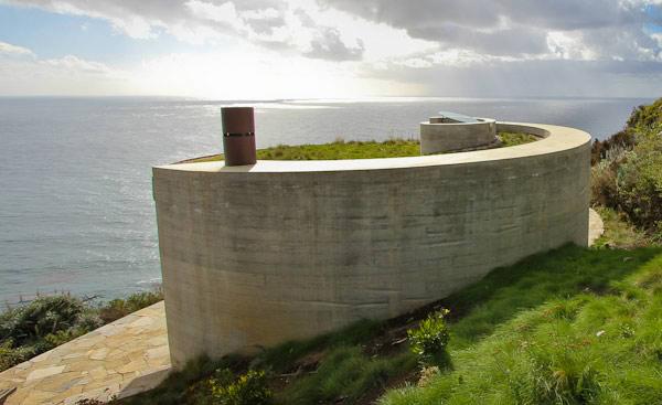 seaside house designs 2 Seaside House Designs, buried into the hillside
