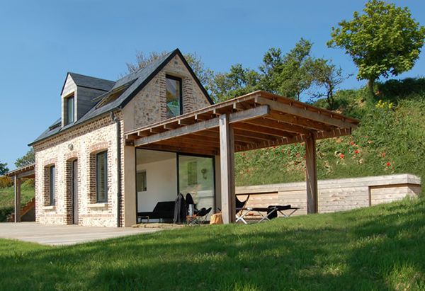 eco home design. shelter house 1 Eco House Design is Heavenly  Complete with Wings