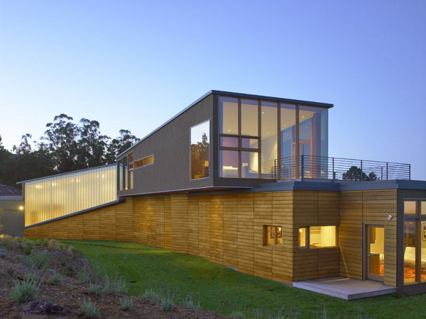 sherman residence 7 Mountain Home Design Inspired by Views, Mill Valley, CA