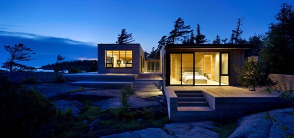 shift cottage 6 Luxury Cottage Home in Canada   this island cottage is superkul