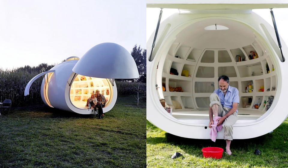 Merveilleux View In Gallery Significantly Small Living Fully Functional Portable Orb 3