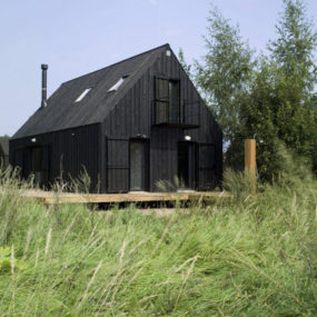 Simple Summer House in Russia