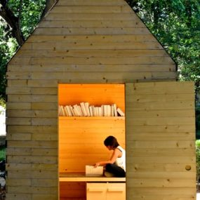 The Simplest Reading Cabin To Build