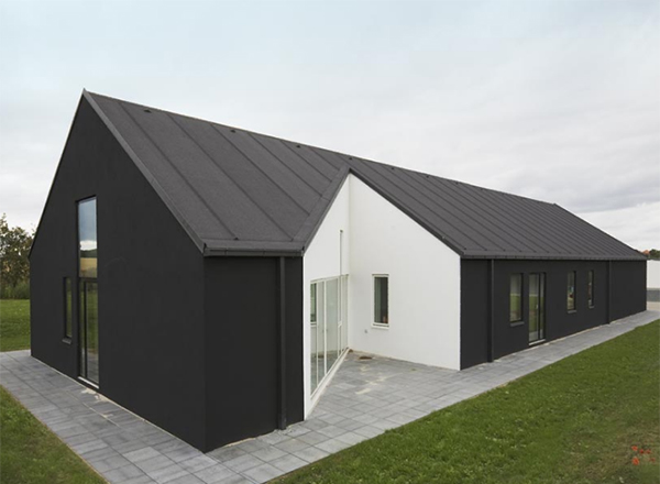 sinus house 2 Modern Country Home in Denmark