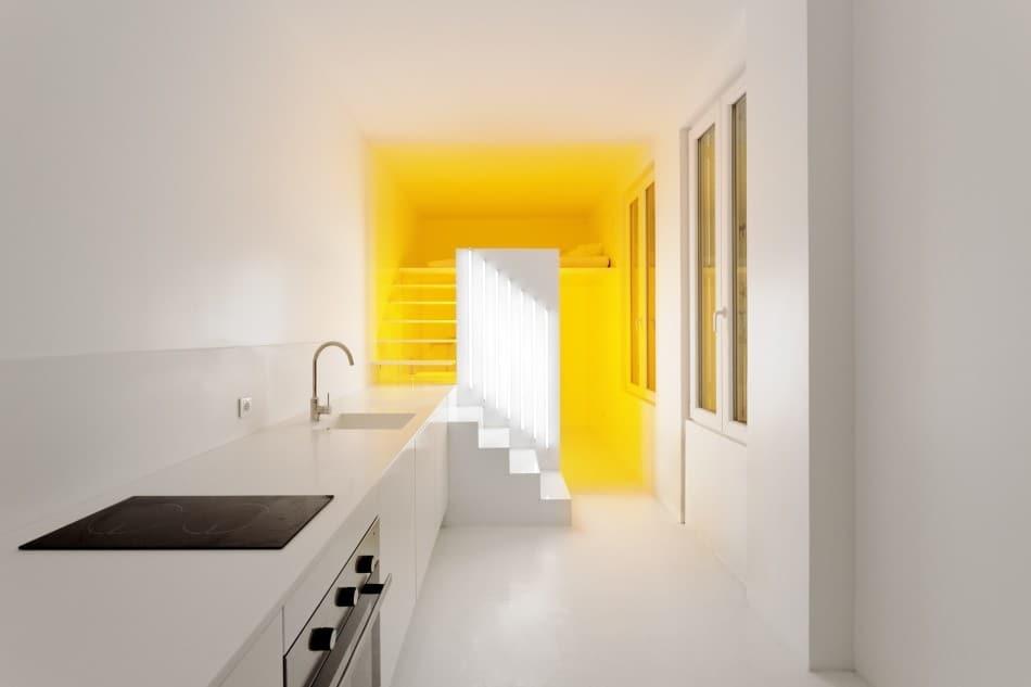 Small-Floorplan Paris Apartment Renovated With Modern ...