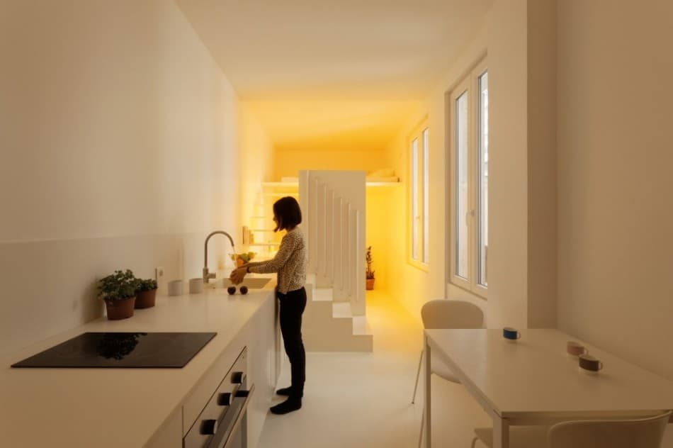 modern lighting solutions. View In Gallery Small-floorplan-paris-apartment-renovated-with-modern- Lighting- Modern Lighting Solutions R