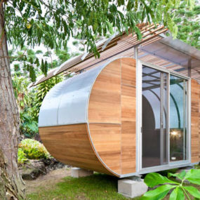 Small, Smart and Sustainable modular home makes a sweet retreat