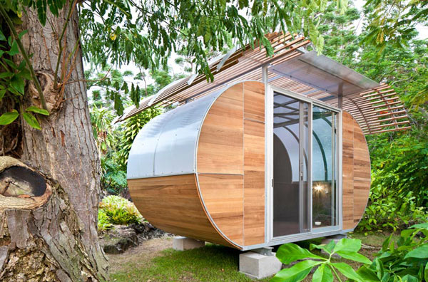 small smart sustainable modular home 1 Small, Smart and Sustainable modular home makes a sweet retreat